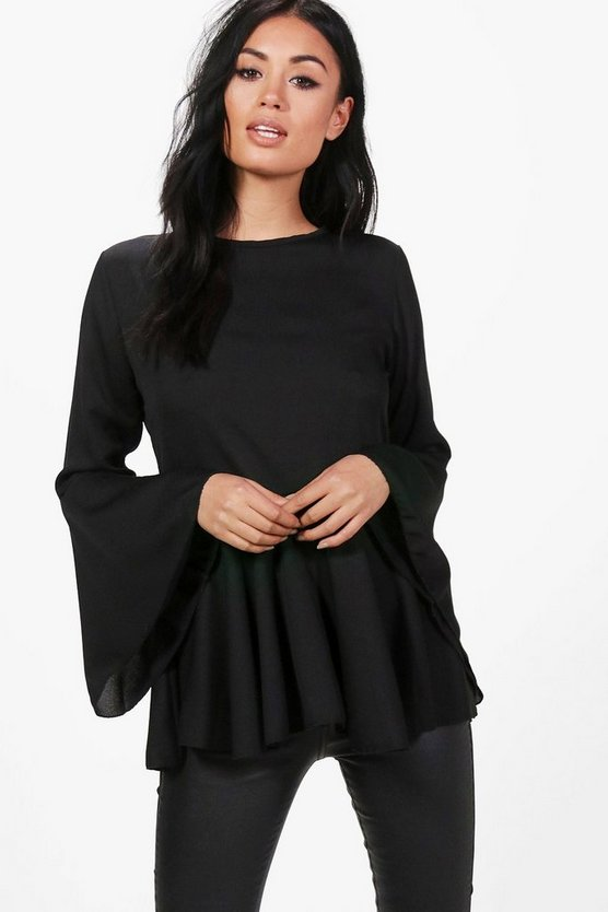 Lauren Wide Sleeve Blouse