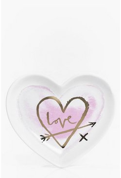 Heart Ceramic Love Trinket Dish