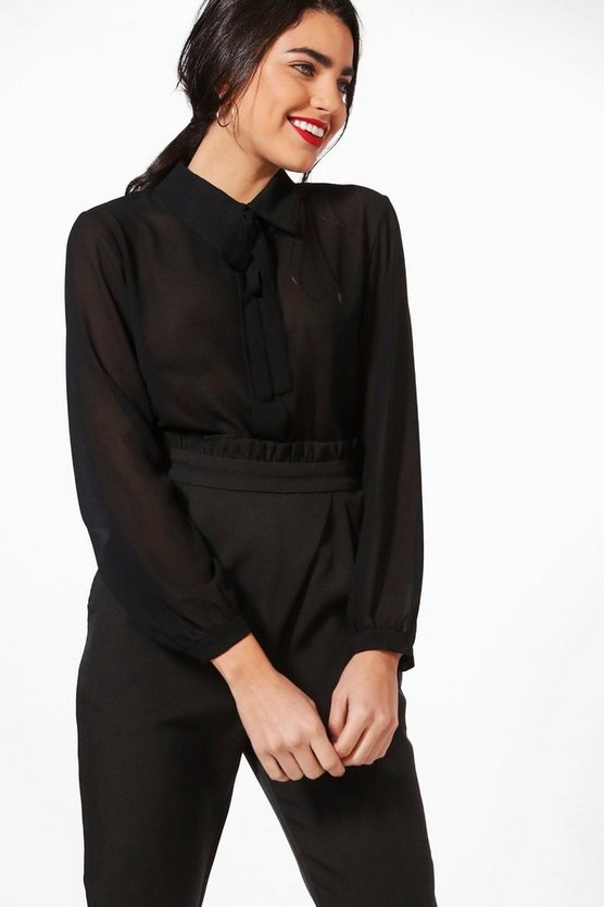 Lottie Bow Detail Shirt