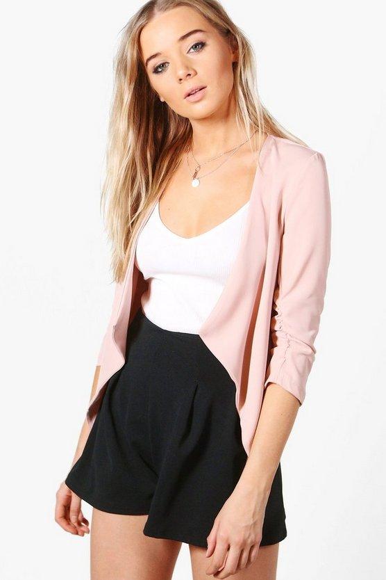 Image result for boohoo amelia pink blazer