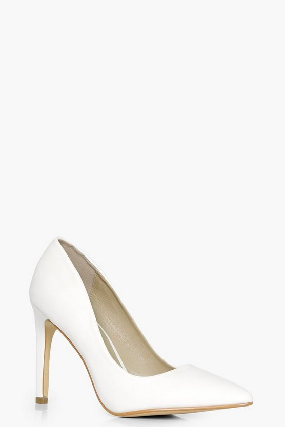 Elizabeth Pointed Toe Court Heel