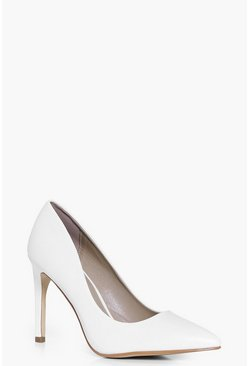 Amie Patent Pointed Court Shoes