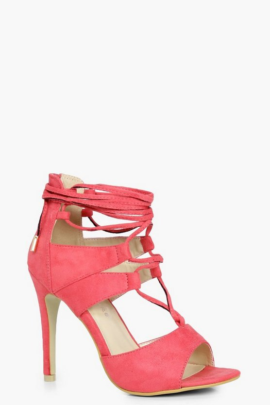 Gracie Ghillie Lace Up Heels