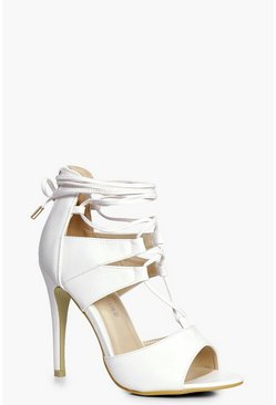 Molly Ghillie Lace Up Heels