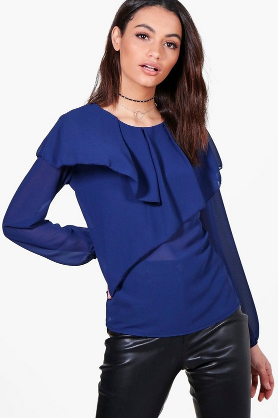 Anna Layered Frill Top
