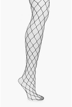Ella Large Scale Fishnet Tights