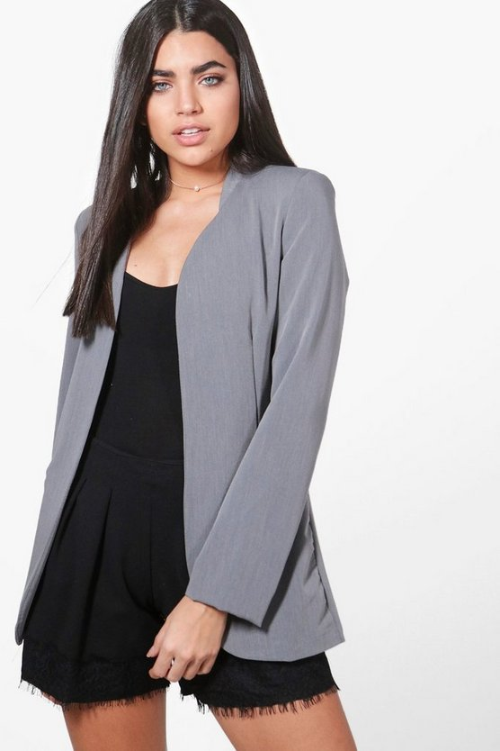 Holly Edge To Edge Woven Tailored Blazer