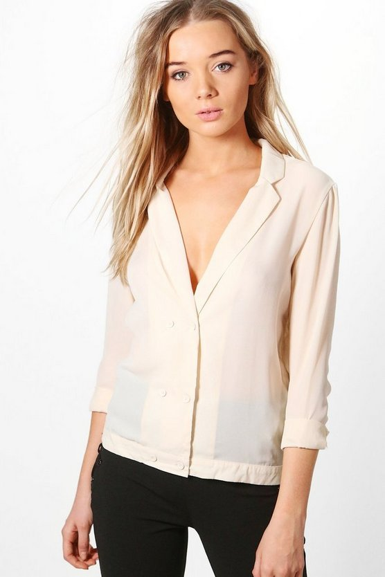 Kerry Tailored Shirt Blazer