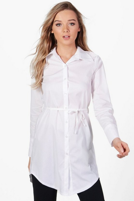 Aria Belted Shirt