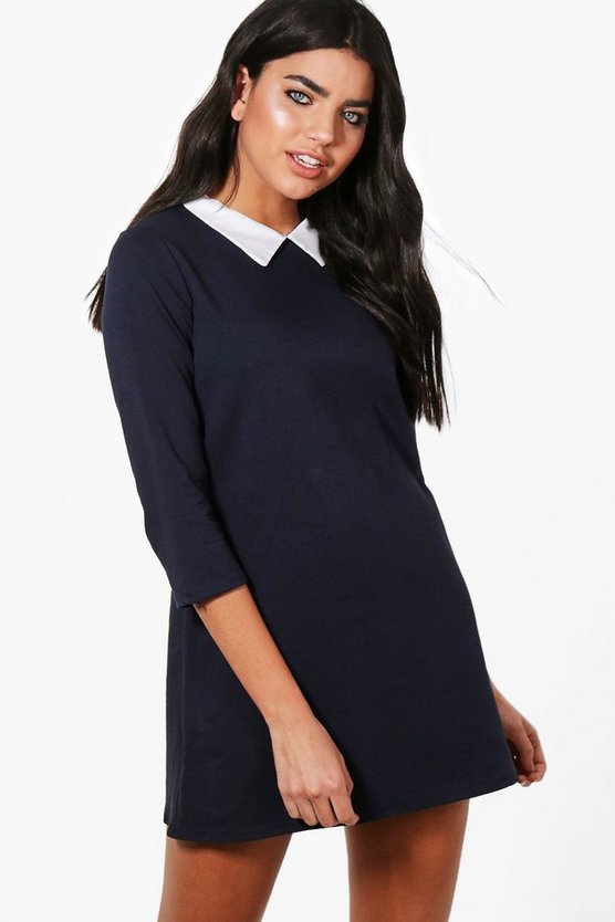 Sierra Shirt Collar Tailored Dress