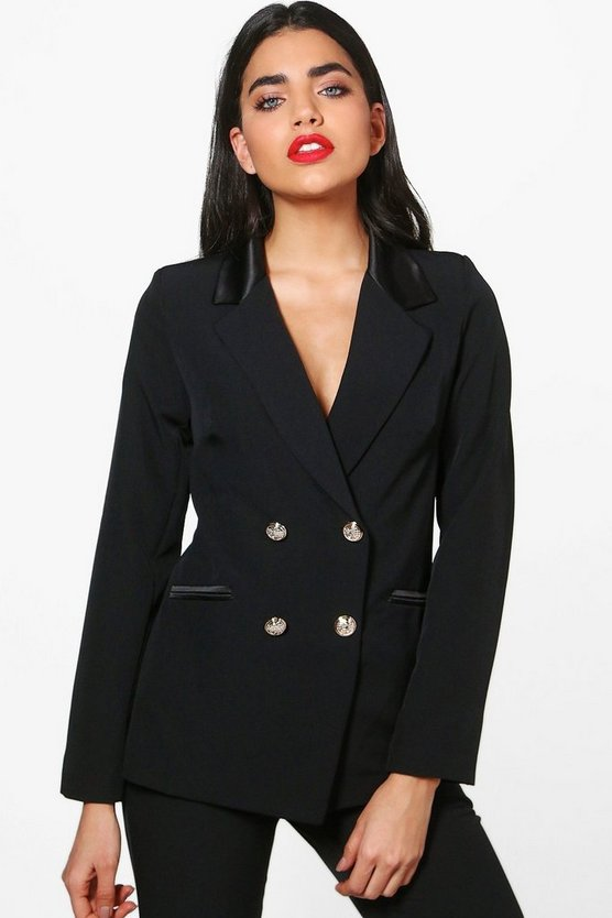Dahlia Double Breasted Tailored Blazer