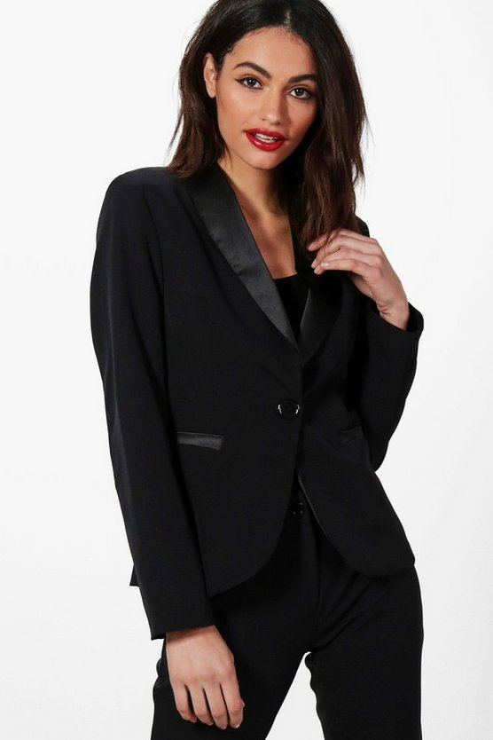 Tina Tailored Tux Blazer