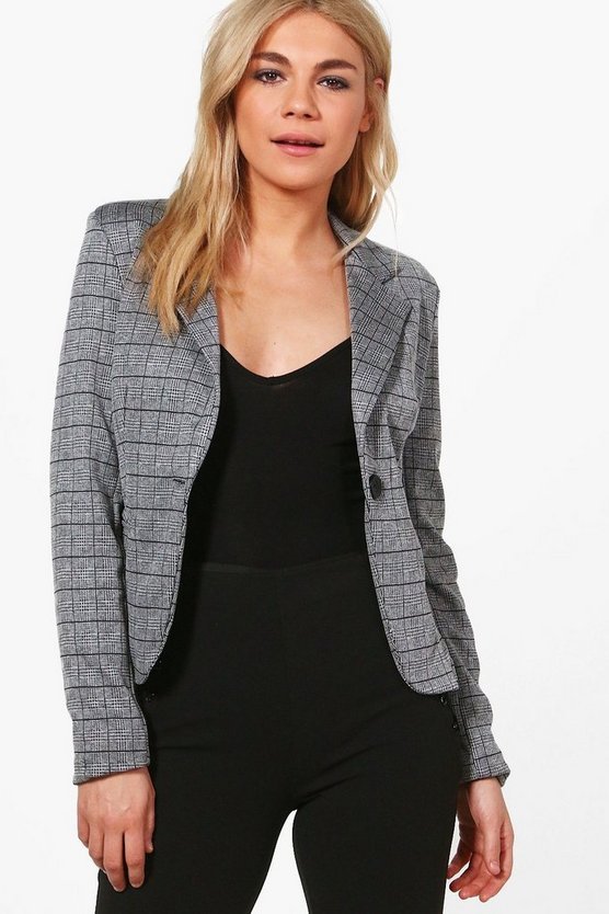 Polly Check Blazer