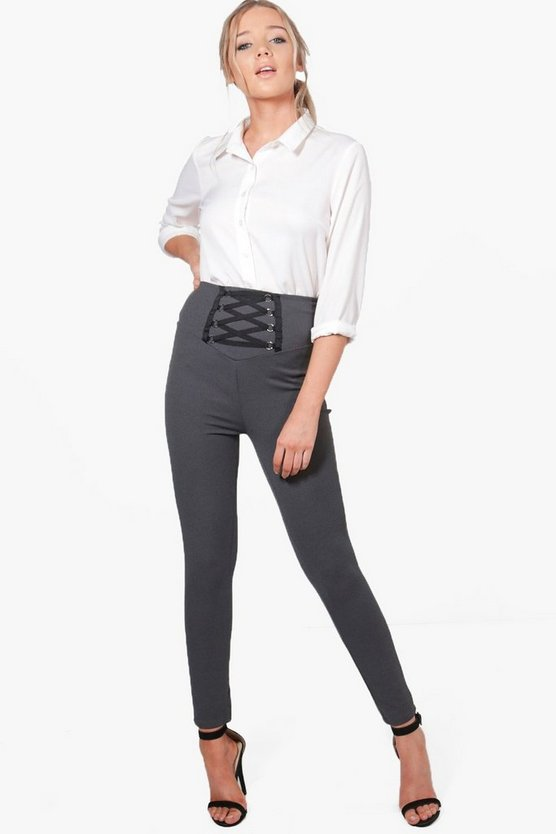 Lily Lace Up Trouser