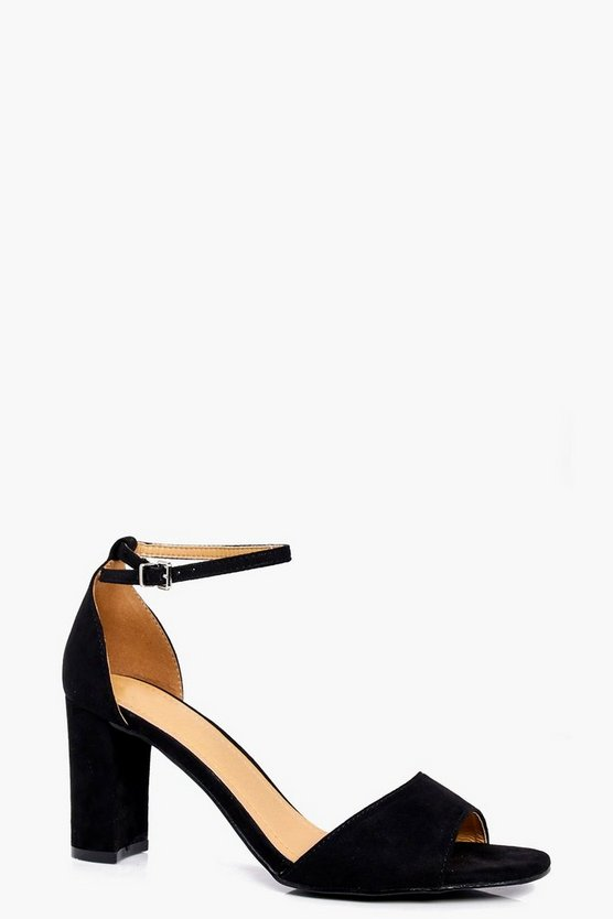 Sophia 2 Part Low Heel Sandal