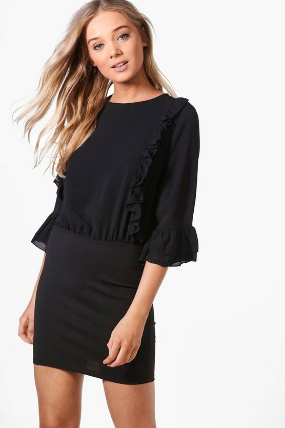 Ria Ruffle Dress