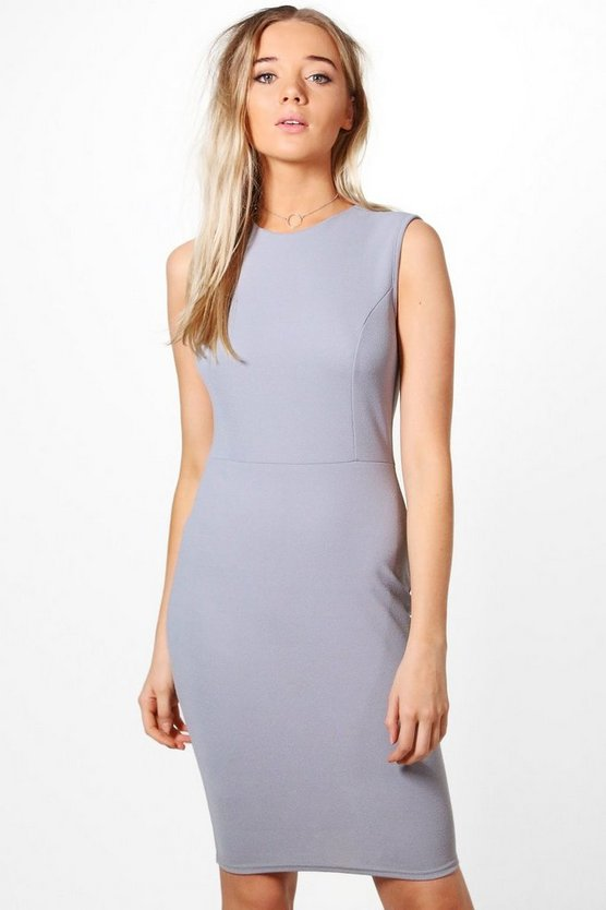 Sarah Sleeveless Fitted Dress