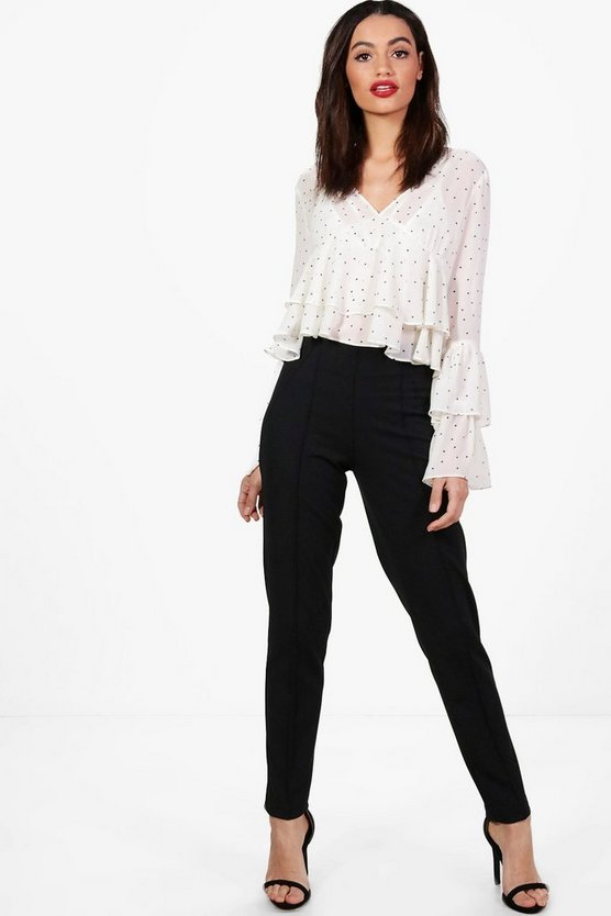 Sadie Side Zip Trousers
