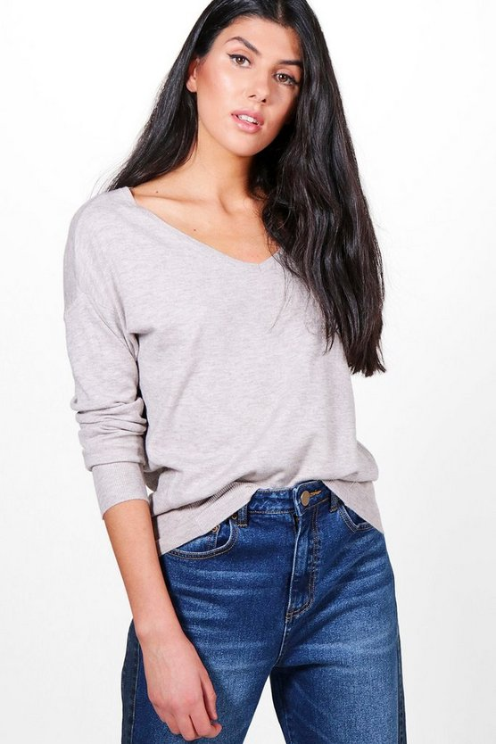 Paige Fine Knit Oversized Jumper