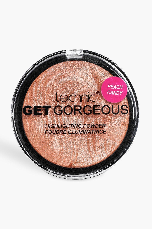 Купить Всё для красоты, Хайлайтер Technic Get Gorgeous цвет Peach Candy, boohoo