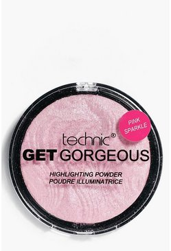 Get Gorgeous Pink Sparkle Highlighter