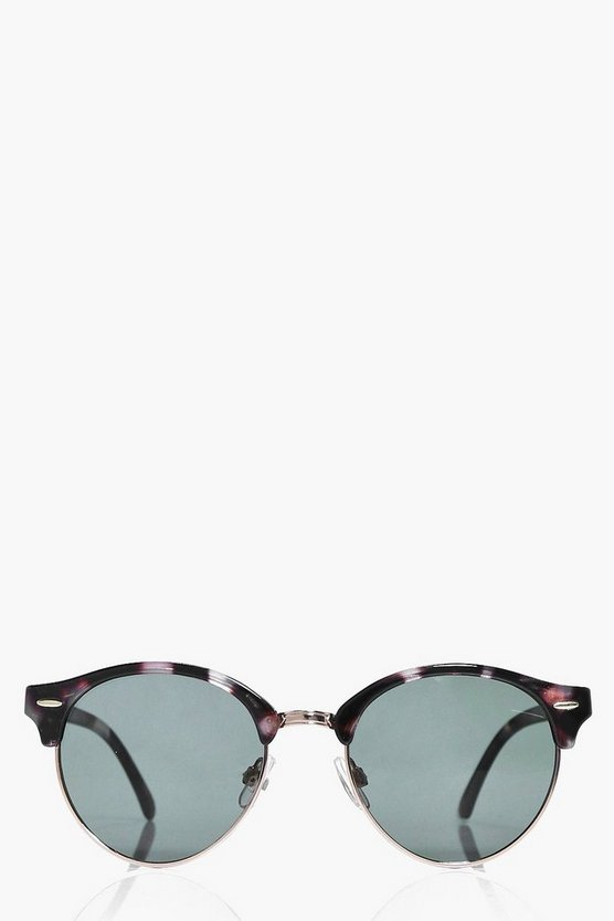 Ella Patterned Frame Sunglasses