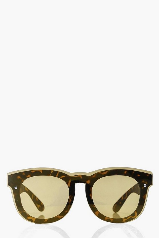 Freya Tortoise Frame Cat Eye Sunglasses