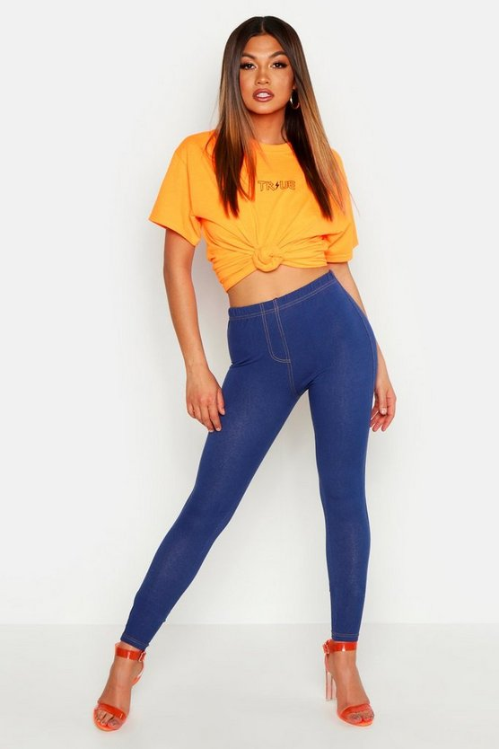 Tarah Basic Denim Look Jeggings