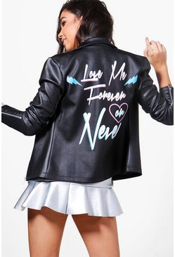 Rosie Love Me Forever Or Never Biker Jacket