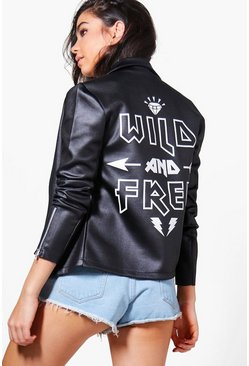 Emma Wild and Free Biker Jacket