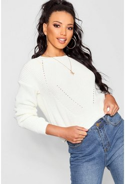 Bethany Mix Stitch Jumper
