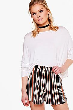 Georgie Striped Flippy Shorts