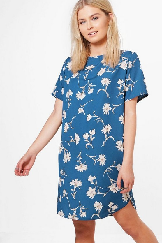 Erin Floral Shift Dress
