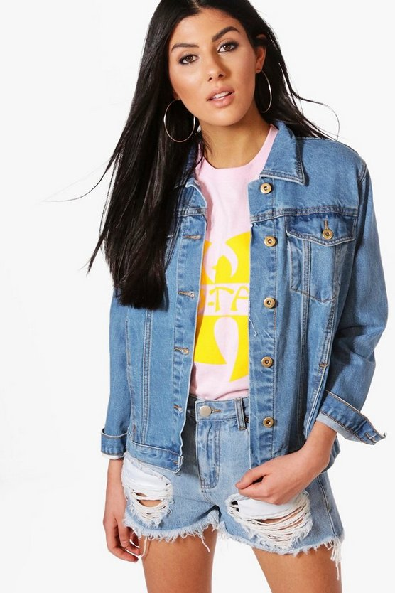 Oversize Boyfriend Denim Jacket