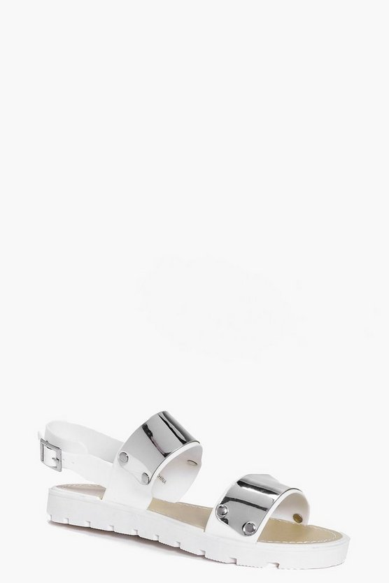 Sophia Two Strap Cleated Sandal