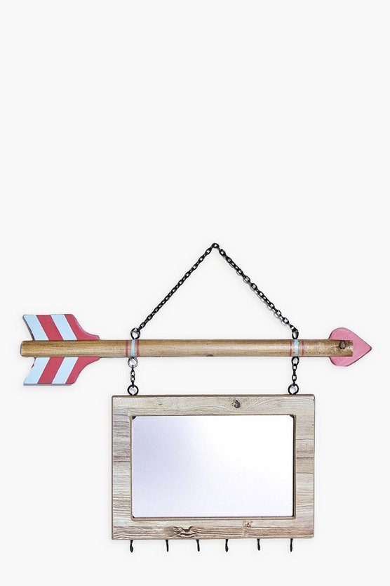 Arrow & Mirror Jewellery Hanger