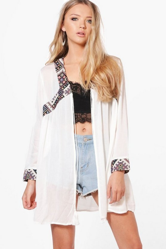 Harriet Embroidered Aztec Jacket