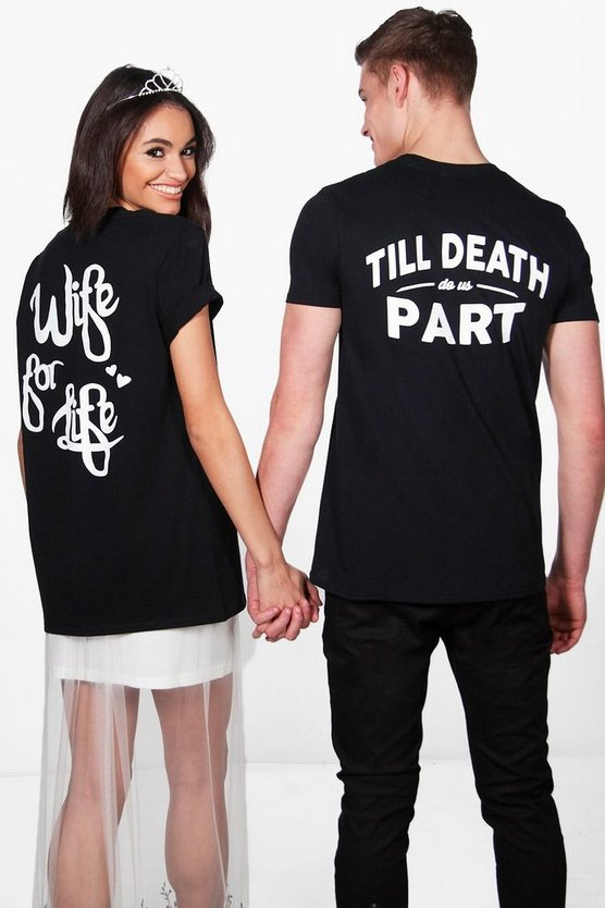 Tabitha His And Hers Bridal T-Shirt