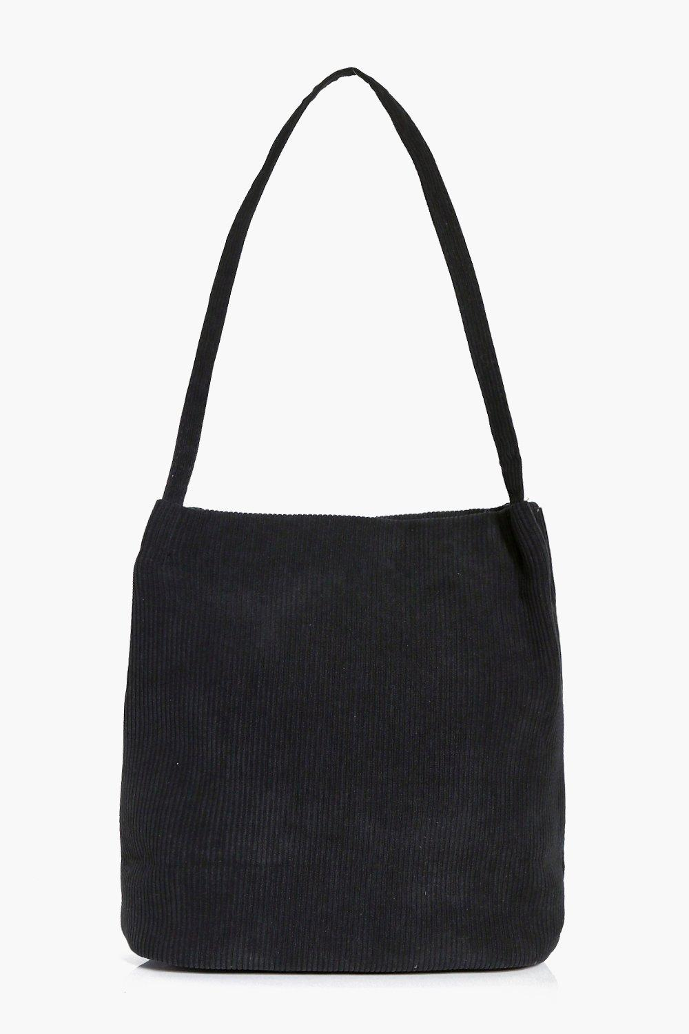 Cord Shopper - black - Jennifer Cord Shopper - bla