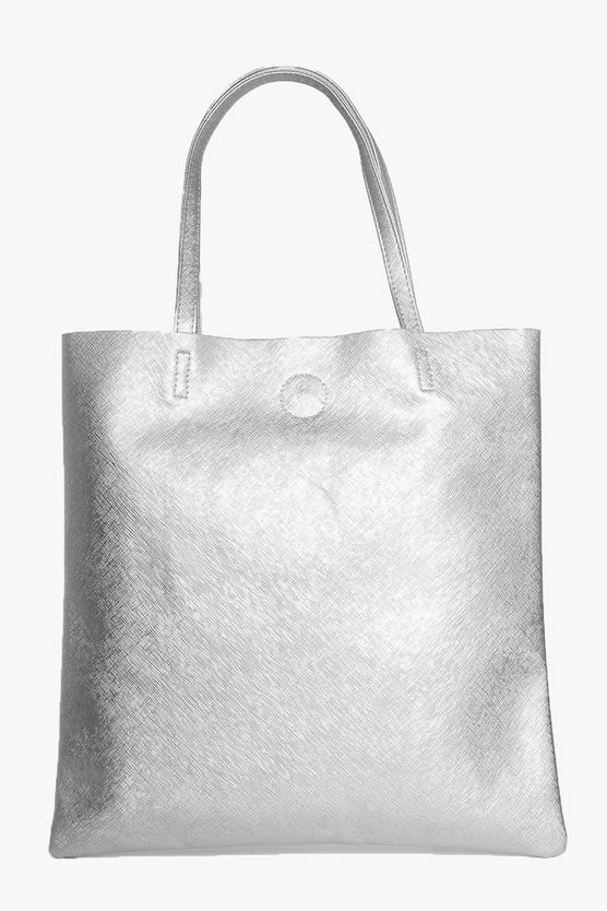 Hope Crosshatch Shopper Bag