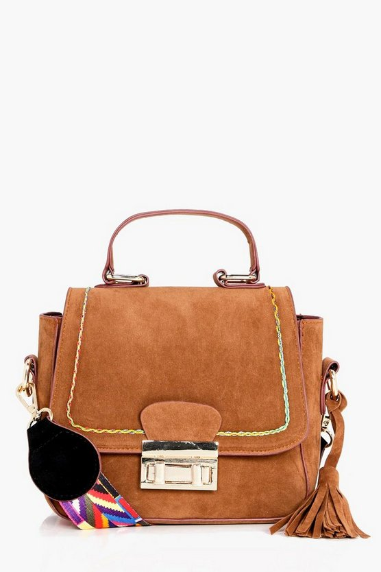 Georgina Aztec Guitar Strap Cross Body Bag