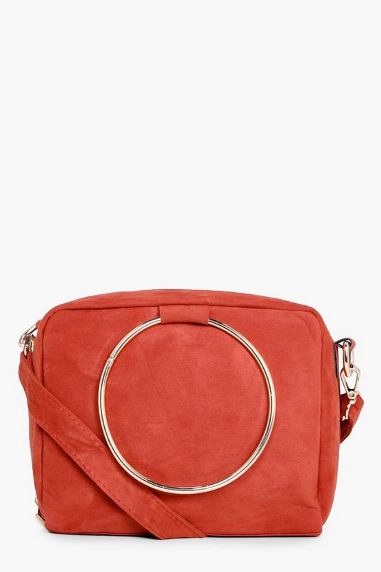 Frankie Loop Ring Detail Cross Body Bag