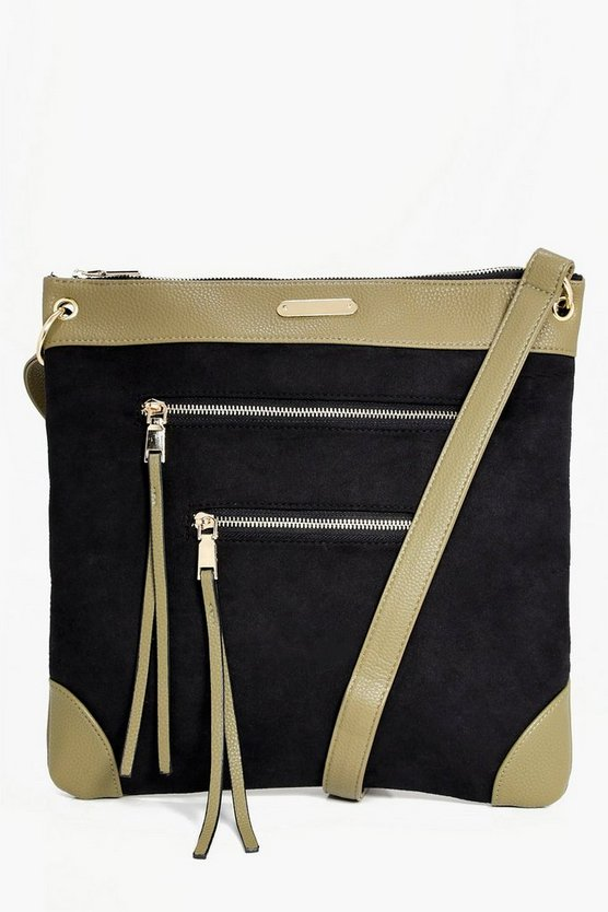 Orla Zip Detail Messenger Day Bag