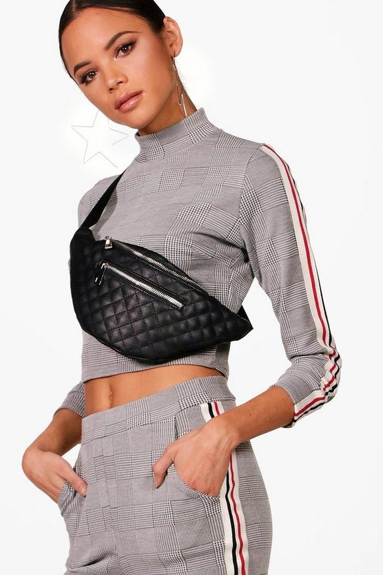 Eve Quilted Pocket Front Bumbag