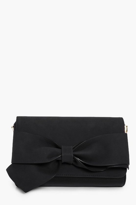 Alicia Bow Front Clutch Bag