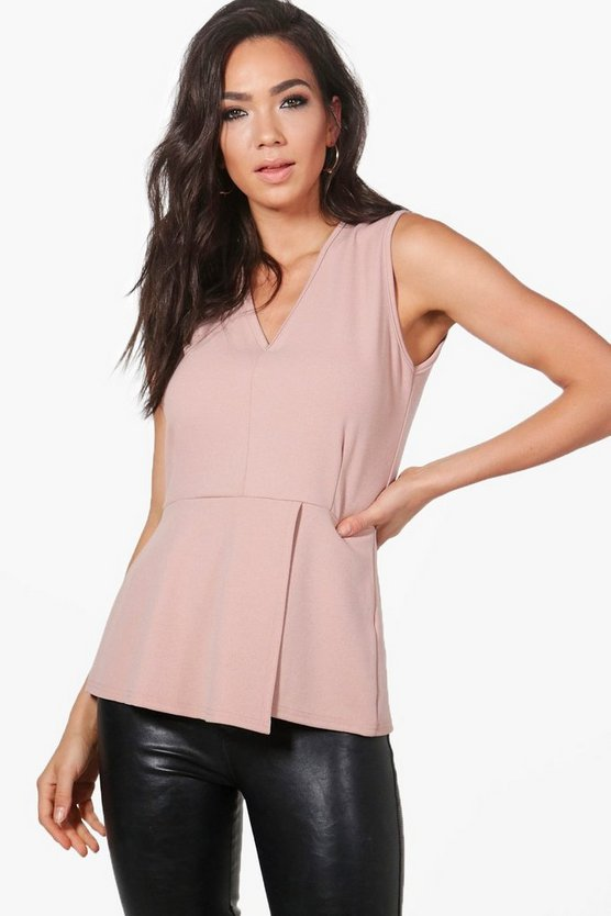 Charlotte Fitted Peplum Top