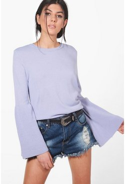 Lana Wide Sleeve Jumper