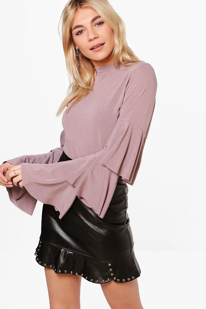 Grace Ruffle Sleeve Jumper