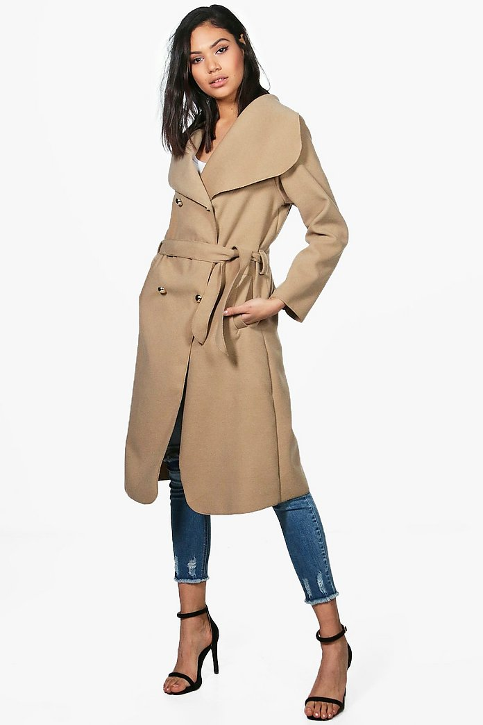 Kate Double Breasted Belted Coat