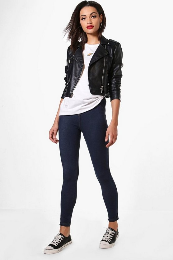 Aurelia Basic Denim Look Jeggings